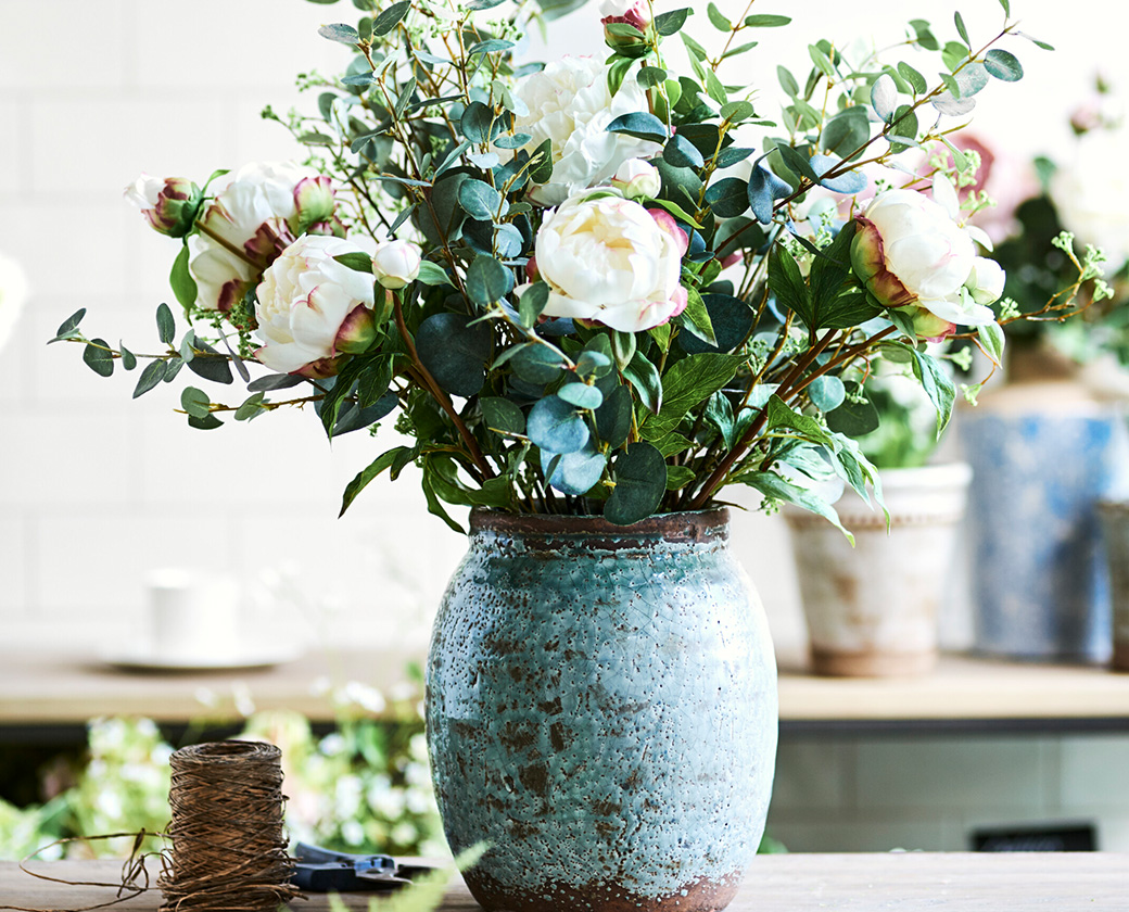 Spring Florals in Broseley Pot